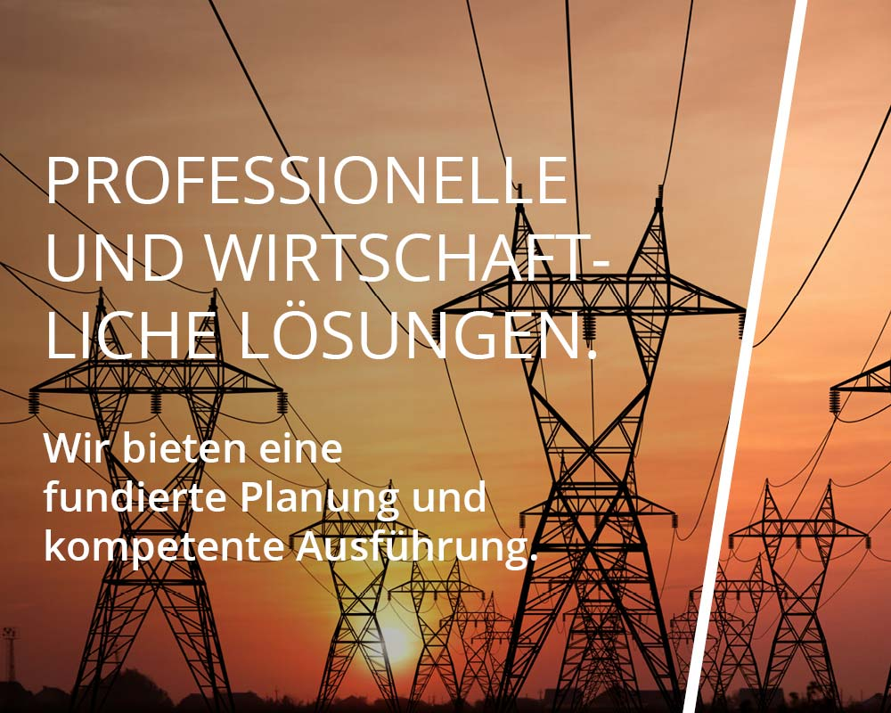 Profesionelle und wirtschaftliche Lösungen.